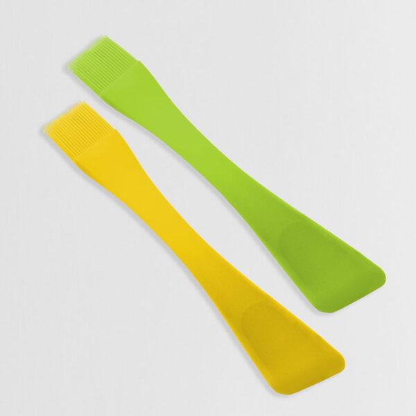 Силіконовий пензлик+лопатка MR-1186