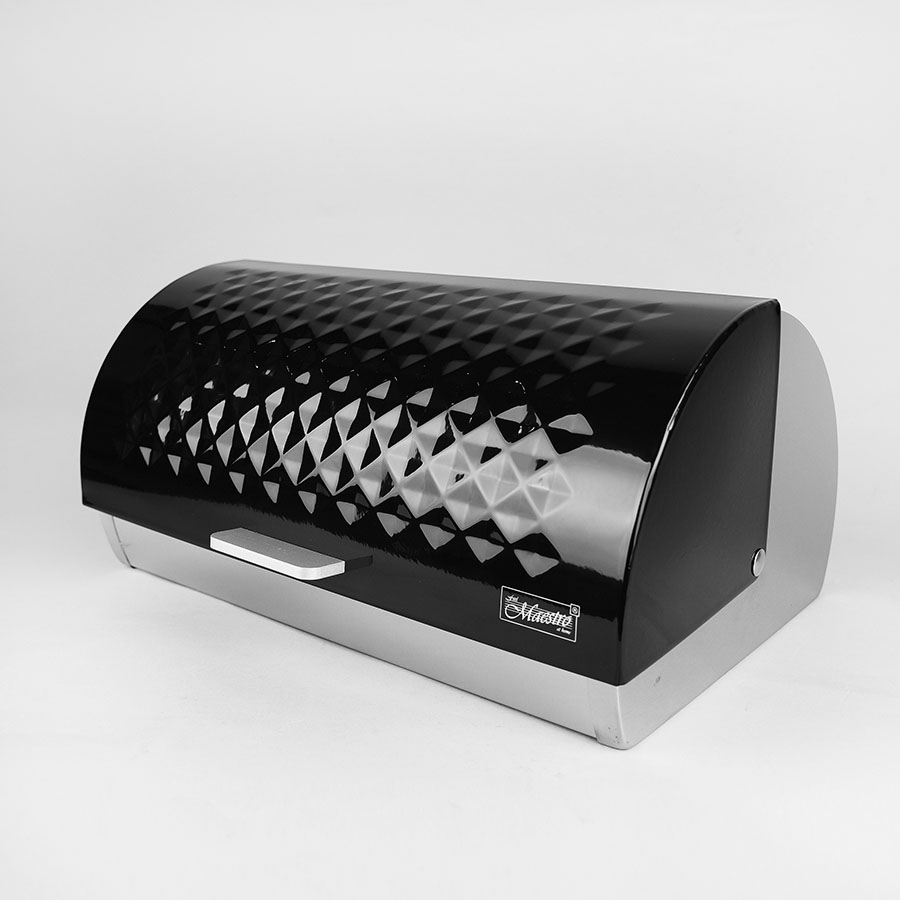 Хлібниця MR-1676-black