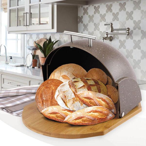 Хлібниця MR-1678-BR-BROWN