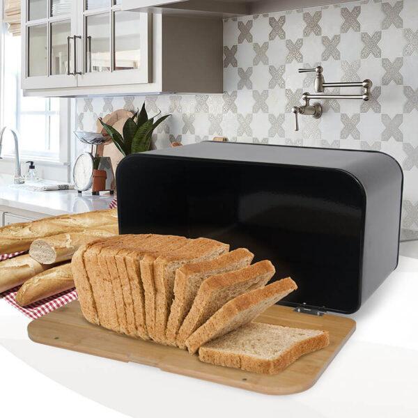 Хлібниця MR-1770-black
